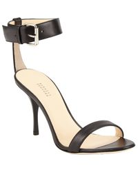 Barneys New York | Black Ankle-Strap Sandals | Lyst