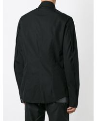Lost & Found - Black Doubled Darted Shirt for Men - Lyst