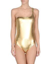 Moschino - Metallic Costume - Lyst