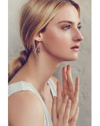 Anthropologie   Gray Nexus Earrings   Lyst
