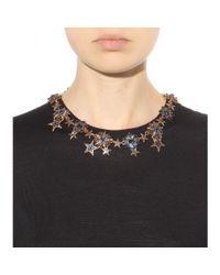 Oscar de la Renta | Metallic Stars Necklace | Lyst