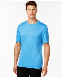 Champion | Blue Men's Powertrain Solid Heather T-shirt for Men | Lyst