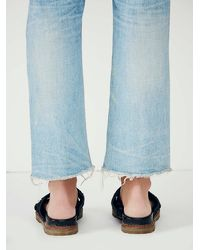 Free People - Black Faryl Robin + Womens Claremont Criss Cross Sandal - Lyst