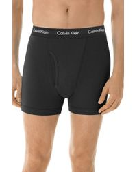 Calvin Klein - Black Boxer Briefs for Men - Lyst