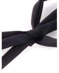 Night Market - Metallic Embellished Ribbon Bib Necklace - Lyst