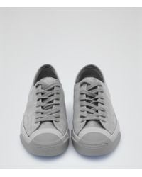 Reiss | Gray Jack Purcell Jack Purcell Trainers for Men | Lyst