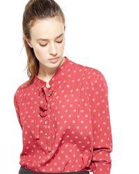 Liu Jo | Red 'qesbour' Shirt | Lyst