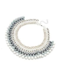 Nakamol | Multicolor Mani Necklace-white Mix | Lyst