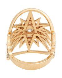 Sara Weinstock | Metallic Starburst Ring | Lyst