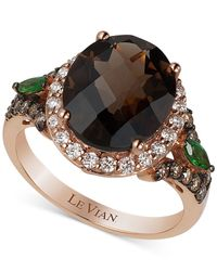 Le Vian | Brown Chocolatier® Crazy Collection® Multi-stone (4 Ct. T.w.) And Diamond (2/3 Ct. T.w.) Ring In 14k Rose Gold | Lyst