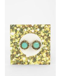 Urban Outfitters | Metallic Moonstone Gift Card Earring | Lyst