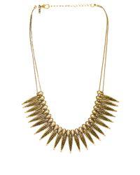 Vanessa Mooney - The Phoenix Necklace in Metallic Gold - Lyst