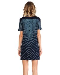 Marc By Marc Jacobs - Blue Hiro Jersey Dress - Lyst