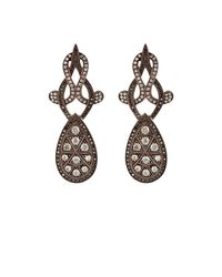 Sevan Biçakci | Black Scrollwork Drop Earrings | Lyst
