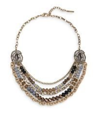 Saks Fifth Avenue | Gray Multi-strand Nested Necklace | Lyst