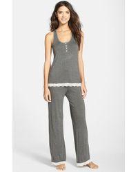 Honeydew Intimates | Gray 'babycakes' Tank Pajamas | Lyst