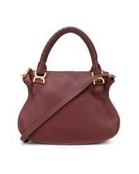 Chloé | Red 'Marcie' Tote | Lyst