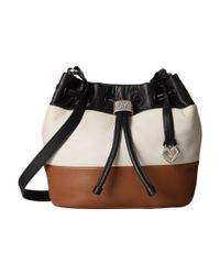 Brighton | Black Brit Mini Bucket Bag | Lyst
