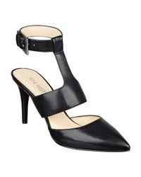 Nine West - Black Powla Ankle Strap Pumps - Lyst