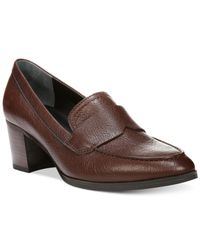 Franco Sarto | Brown Adobe Pumps | Lyst