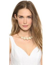 Kenneth Jay Lane | Green Choker Necklace | Lyst