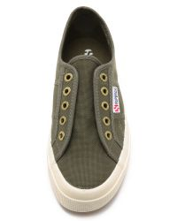 Superga | 2750 Cotu Slip On Sneakers - Military Green | Lyst