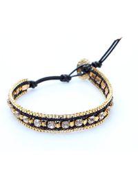 Nakamol | Multicolor Kato Bracelet-gold/black | Lyst