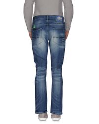 Jack & Jones - Blue Denim Trousers for Men - Lyst