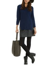 Oasis | Blue The Cable Knit | Lyst