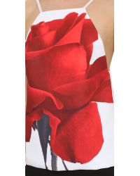 Karla Špetic - Red Window Visions Top - Rose Print - Lyst