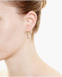 Yvonne Léon | Metallic 18K Gold And Diamond Feuilletis Lobe Earring | Lyst
