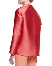 Lafayette 148 New York - Orange Zineb Sorbet Cloth Topper - Lyst