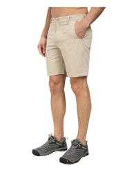 Woolrich - Natural Milestone Short for Men - Lyst