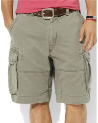 Polo Ralph Lauren | Green Gellar Fatigue Shorts for Men | Lyst