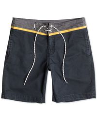 Quiksilver | Gray Street Trunk Contrast-yoke Shorts for Men | Lyst