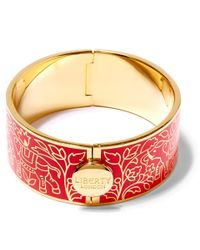 Liberty | Red Imran Solid Thick Cuff | Lyst