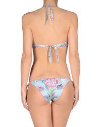 Agogoa   Blue Bikini   Lyst
