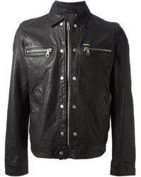 DIESEL - Black 'L-Bunmi' Jacket for Men - Lyst