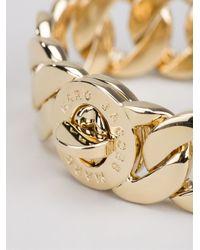 Marc By Marc Jacobs | Metallic 'katie Link' Bracelet | Lyst