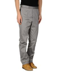 Thom Browne - Gray Casual Trouser for Men - Lyst
