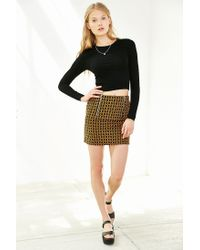 Silence + Noise - Black One Shot Cropped Top - Lyst
