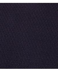 Reiss | Blue Watts Honeycomb Weave Jumper for Men | Lyst