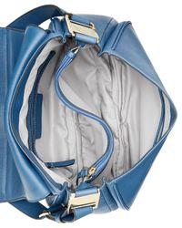 Ivanka Trump | Blue Charlotte Saddle Messenger Bag | Lyst