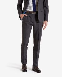 Ted Baker | Gray The Commuter Cycling Suit Trousers for Men | Lyst