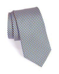 Ted Baker - Blue Dot Silk Tie for Men - Lyst