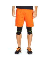 Ralph Lauren - Orange Mesh Athletic Short for Men - Lyst