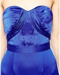 Coast - Blue Mina Maxi Dress - Lyst