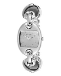 Gucci | Metallic Women's Marina Stainless Steel And Ceramic Silver-tone Dial | Lyst