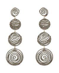 Carole Shashona - Metallic Galaxy Drop Earrings - Lyst
