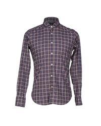 Eleventy   Purple Shirt for Men   Lyst